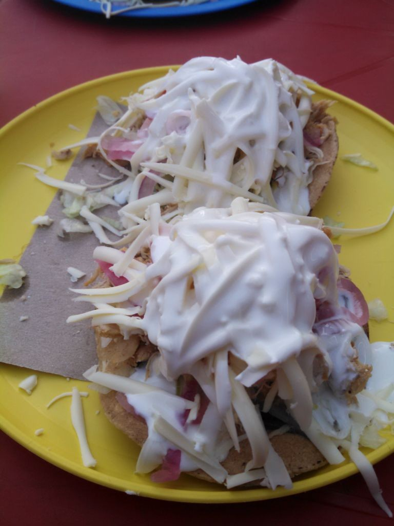 Dona Mary's Chicken Tostada