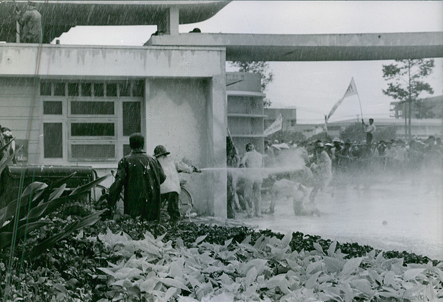 SAIGON 1964 - A demonstration and riot during Vietnam War