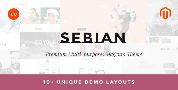 ThemeForest Sebian v1.0.2 - Multipurpose Responsive Magento Theme
