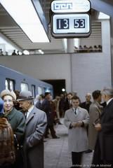 Ouverture officielle du métro de Montréal. 14 octobre 1966. VM94-Md58-095. Archives de la Ville de Montréal.