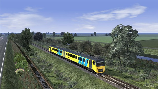 TS2016, IJlst, Wadloper Train Simulator