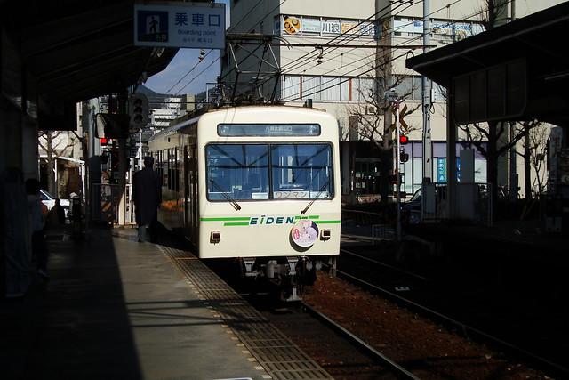 2016/01 叡山電車×NEW GAME! ラッピング車両 #53