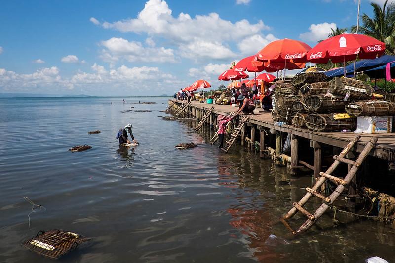 Crab Market @ Kep, Cambodia