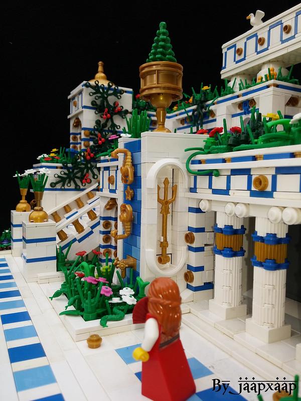 Giiardini pensili di Babilonia - The Hanging Gardens of Babylon (detail 1)