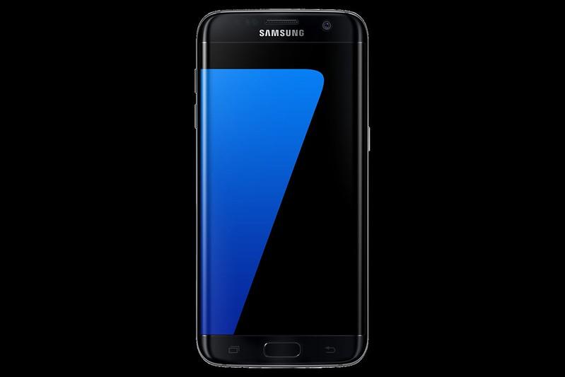 Samsung Galaxy S7 Edge - Black Onyx - Front