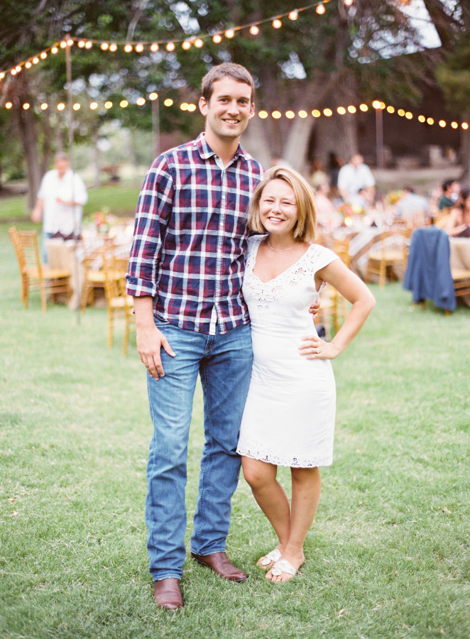 Anna Maier Ulla Maija Wedding Dress and a Floral Crown for a rustic romance wedding in Texas