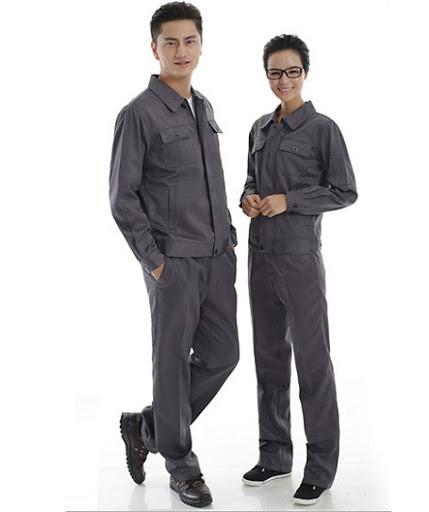 quần áo bảo hộ lao động màu ghi xám tại Kiên Giang