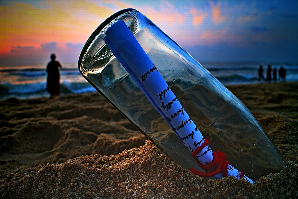 Message in a Bottle :'-( Love . 愛 . Amor . प्यार . Amar