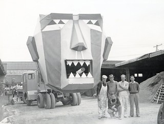 Dunedin City Council's Works Department Festival Float Entry, 1961