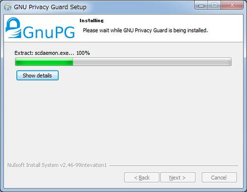 Installing GnuPG for Windows (6)