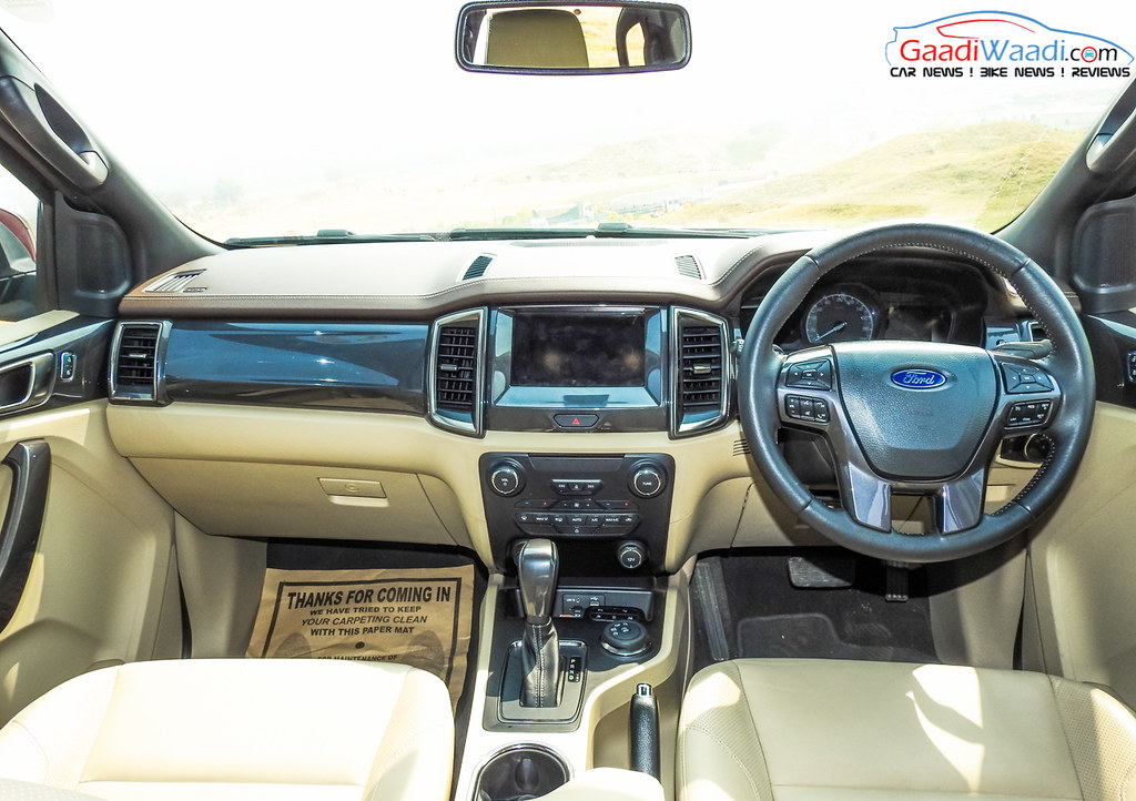 2016 ford endeavour 3.2 interior