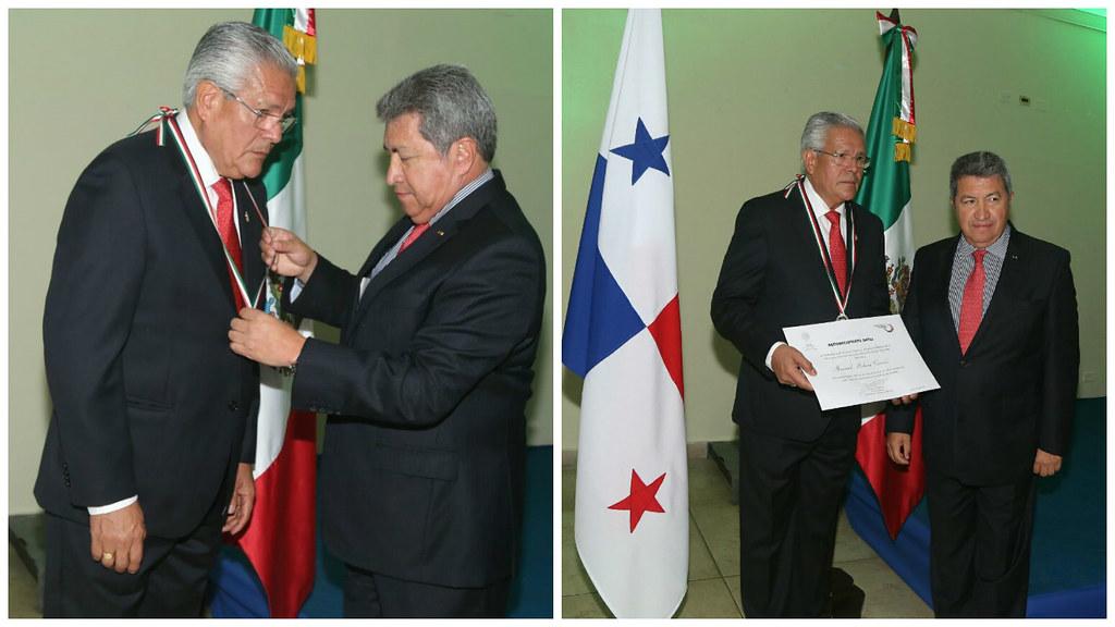 """Premio """"Ohtli"""" a su  Cónsul Honorario en David, Chiriquí"""