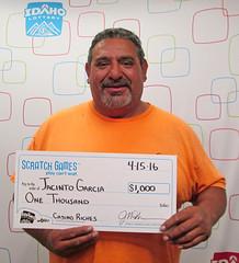 Jacinto Garcia - $1,000 Casino Riches
