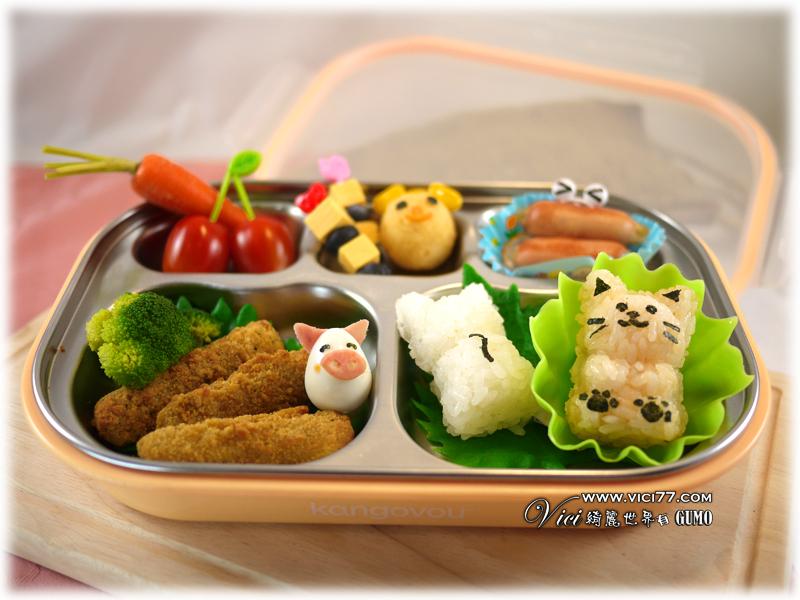 0330立體熊兒童餐033
