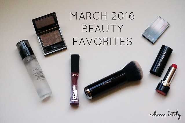 Beauty Faves March 2016
