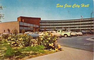 San Jose City Hall 1967, California