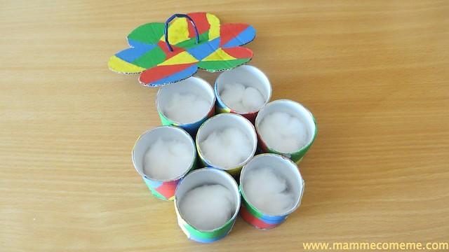 Festa della mamma: Porta anelli arlecchino