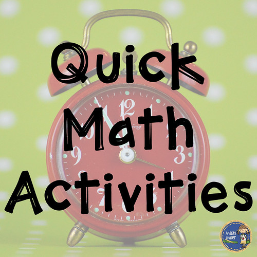 Quick Math Activities