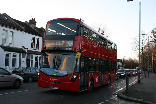 London General WHV101 on Route 155, Tooting