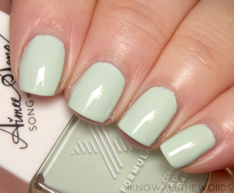 Formula X #ColourCurators January Mintfluencer