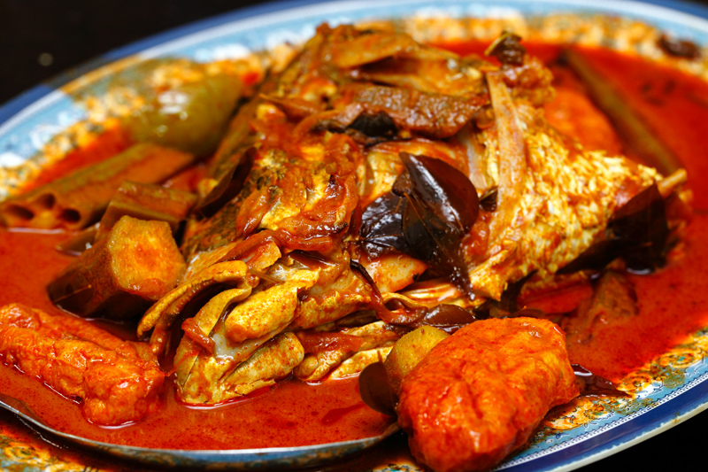 ZK Fish Head Curry Kg Attap