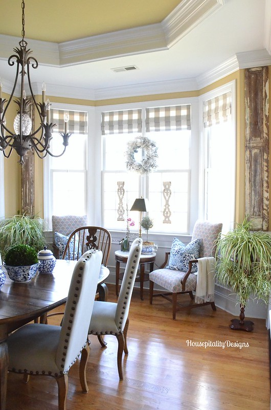 Organizing and refreshing the dining room for Sitting and dining room designs