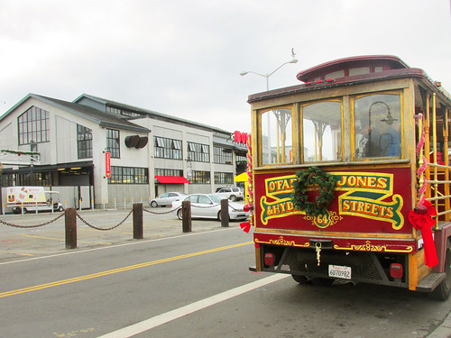 SF Christmas, Cable Car