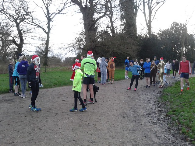 Christmas Day parkrun