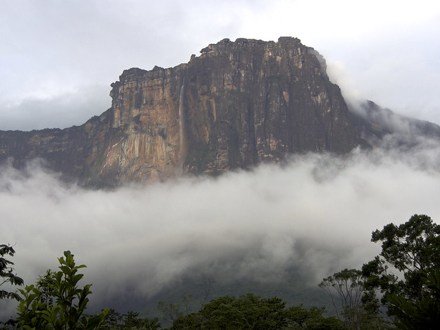 By plane and boat to Angel Falls