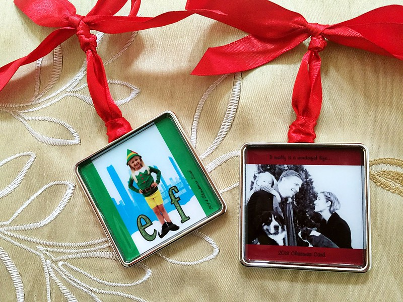 how to recycle your Christmas cards into something more