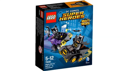 LEGO DC Comics Super Heroes Might Micros: Batman vs. Catwoman (76061)