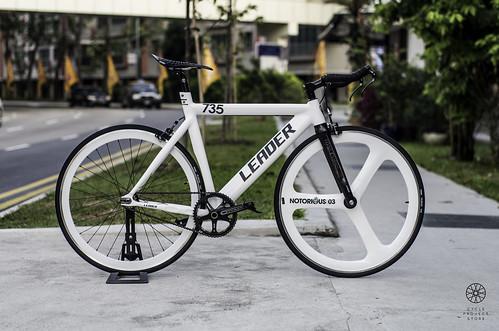 Leader 735 2015 White