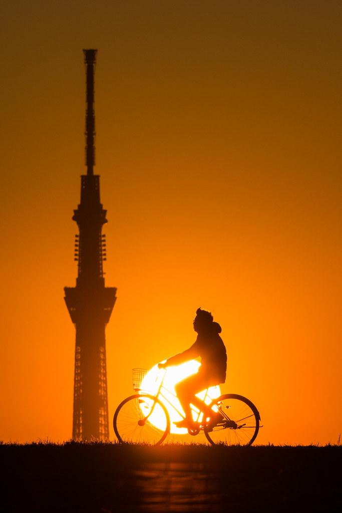 20160111_03_Sunset and Tokyo Sky Tree