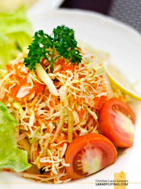 Cafe Kyoto Bataan Salad