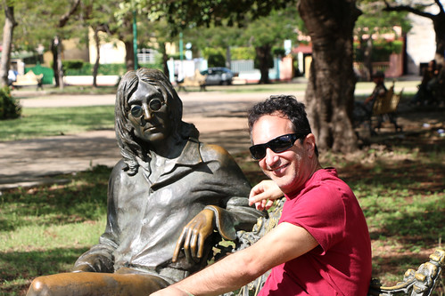 At Parque John Lennon, Havana