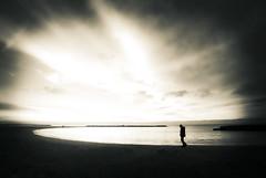 Morning Walk On Carnon Beach