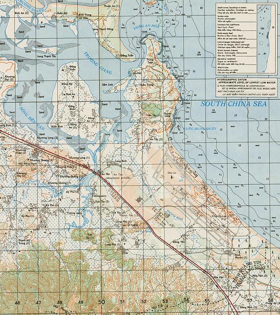 Phi trường Chu Lai - Vũng Dung Quất 1967