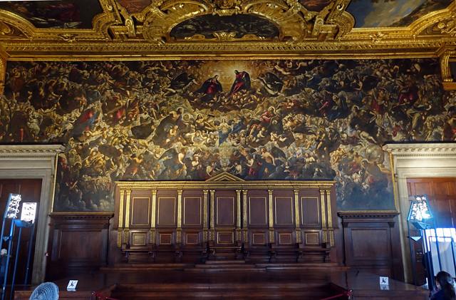 2015-12-30 01-02 Venedig 234 Palazzo Ducale, Tintoretto, Il Paradiso