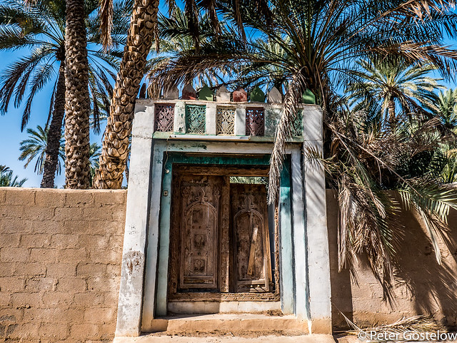Old Omani door