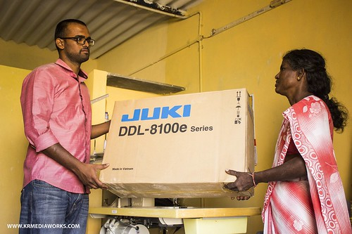 Poornima Joshi-Flood relief for Tamil Nadu