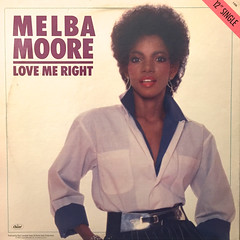 MELBA MOORE:LOVE ME RIGHT(JACKET B)