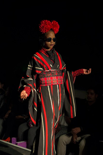 Kimono fashion show