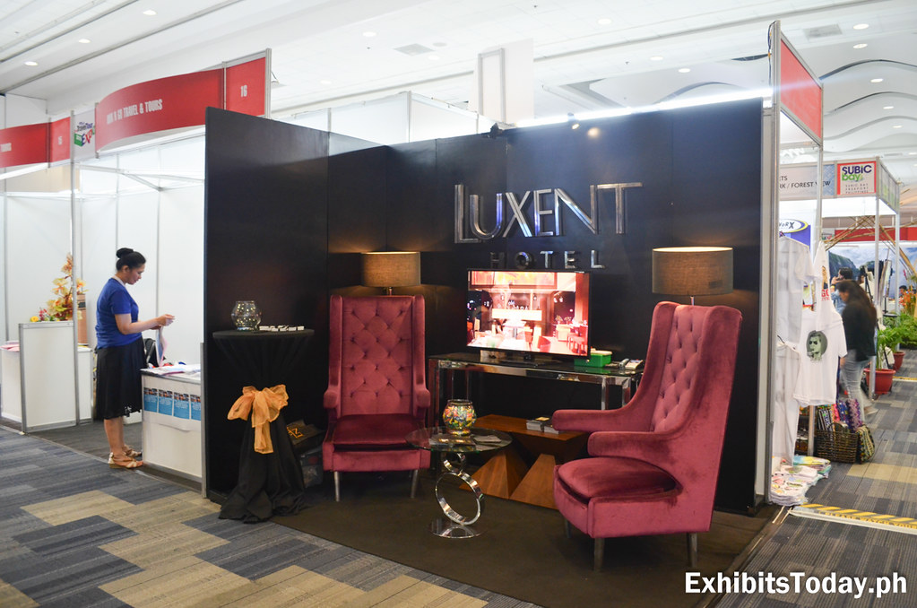 Luxent Hotel Exhibit Stand