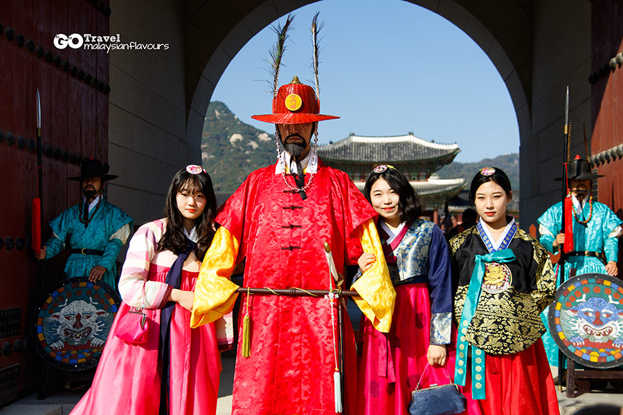 Gyeongbokgung Palace at Seoul South Korea