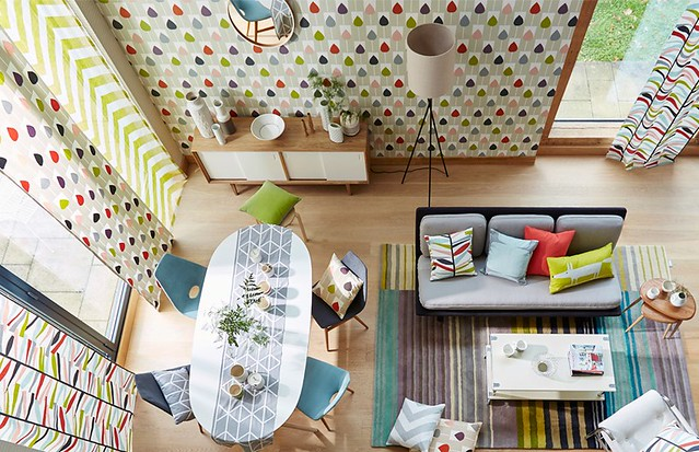 Pattern Mixing Home Decor | Mix and Match Interior Decorating