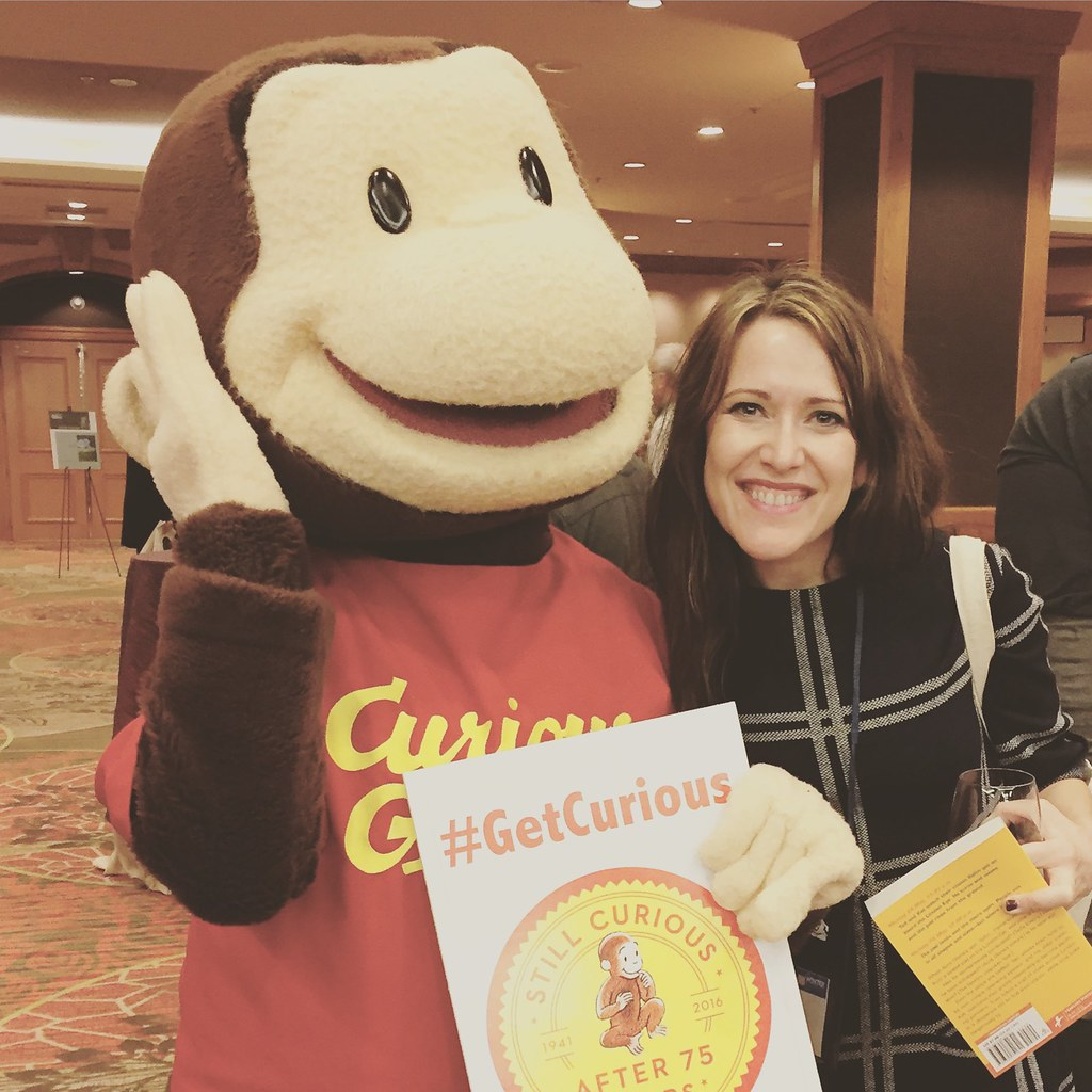 me + curious george