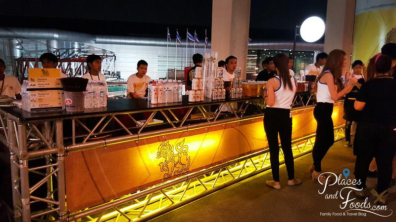 madonna concert singha booth
