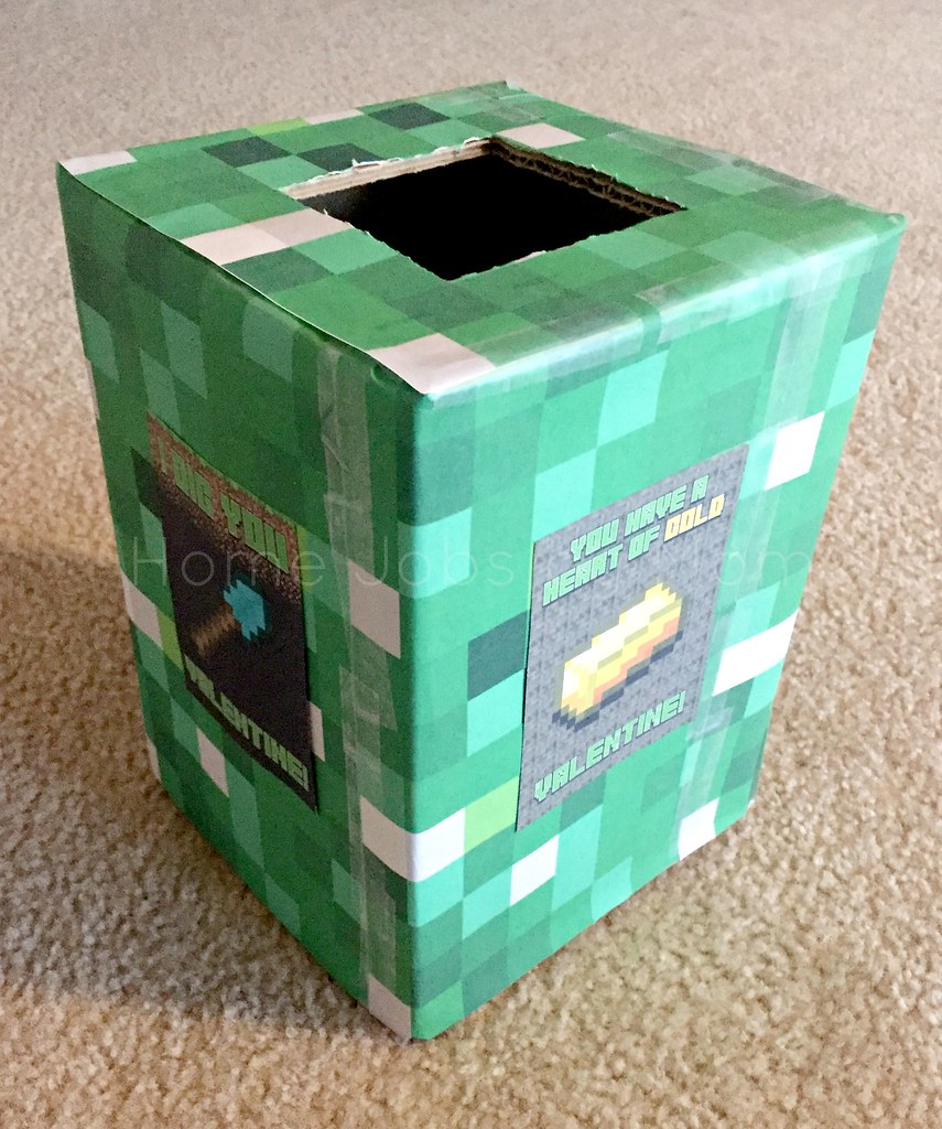 minecraft box back