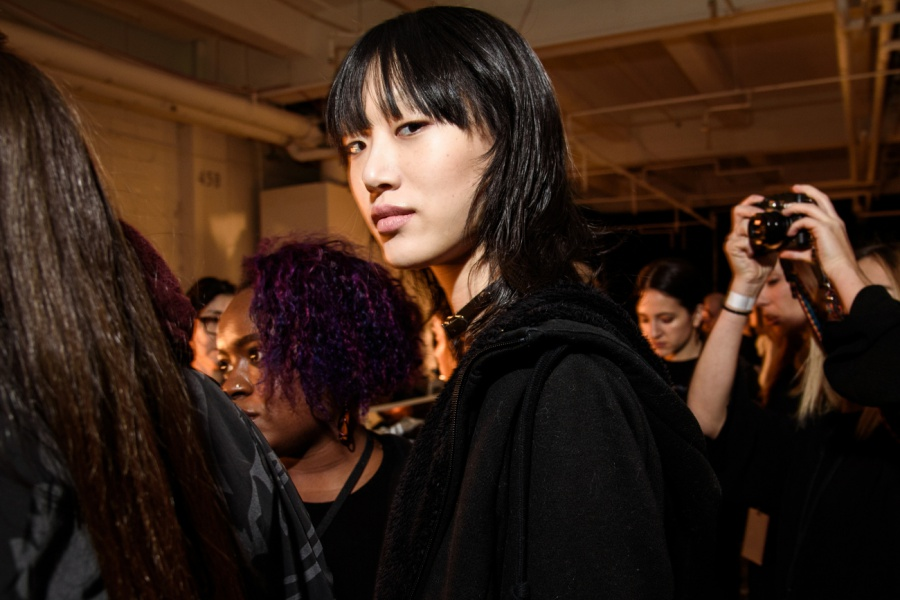 Backstage Beauty: Rag & Bone Fall 2016