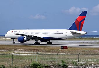 Delta B757-200 en el Caribe (A.Ruiz)